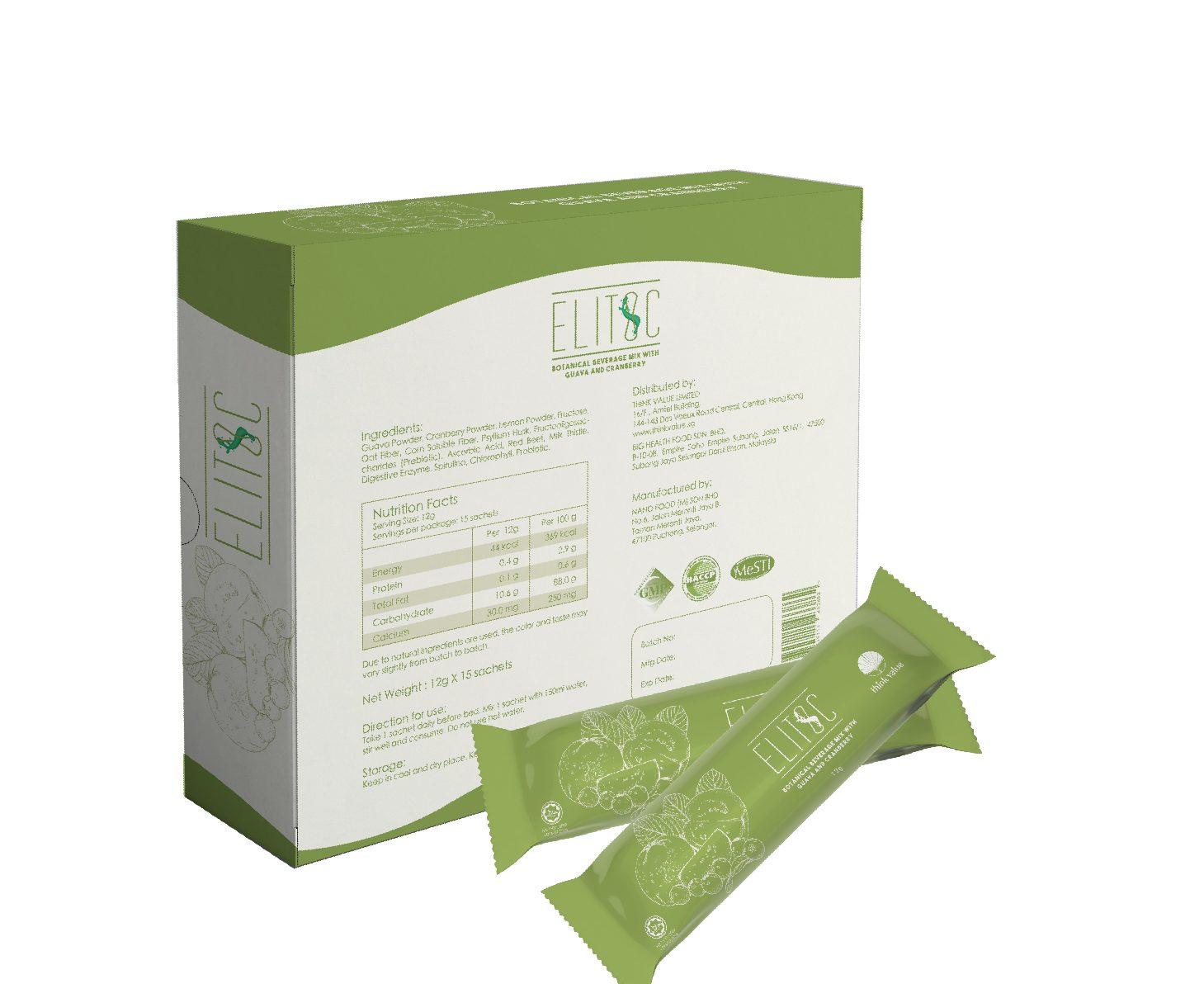 Elitoc probiotic fiber